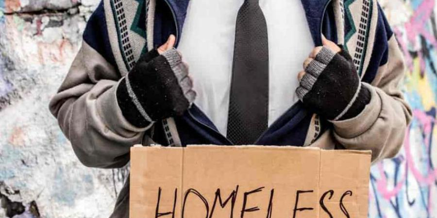 How easy is it to become homeless