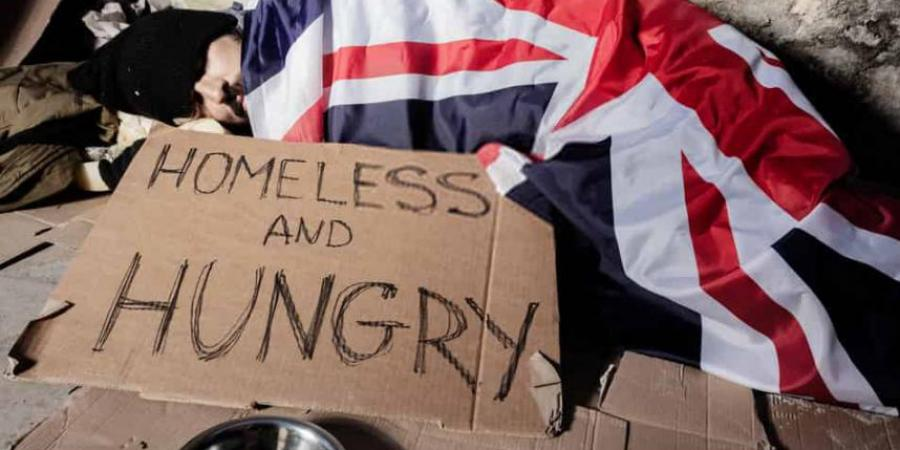 How many homeless people are there in UK