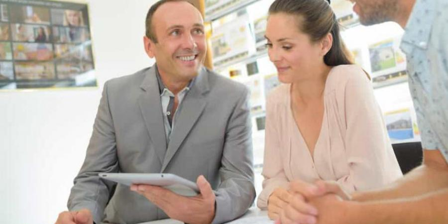 What do estate agents do when reference checking