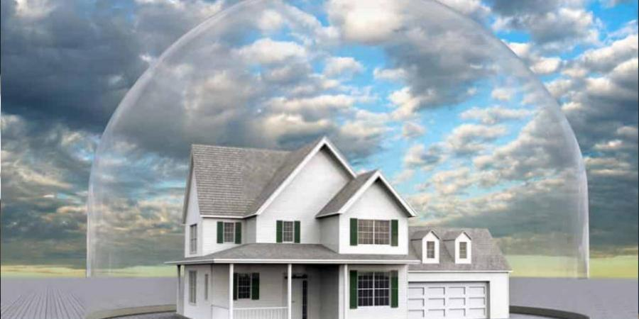What happens when a housing bubble bursts