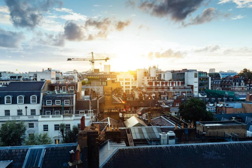 London home price bounce back slightly