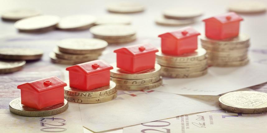 UK average property prices are still higher in comparison to previous year