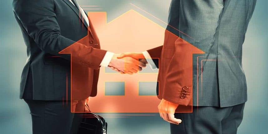 What does a real estate agent do