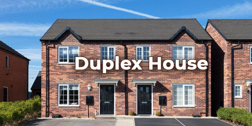 What is a Duplex House