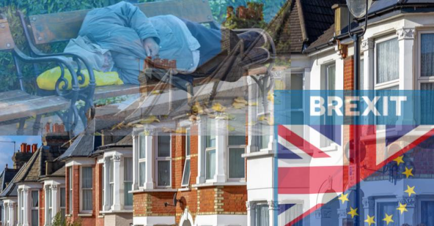 homless in uk -brexit